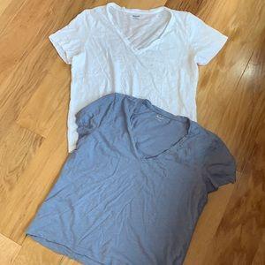 EUC set of 2 Madewell large tee shirts